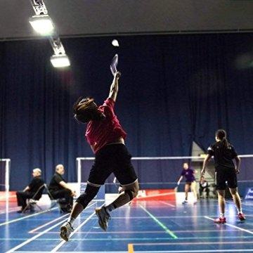 12 Stück Badminton Bälle, Gänsefeder Badminton Federbälle Shuttle Mit hoher Stabilität und Haltbarkeit Gänsefedern Federball Shuttlecocks Indoor Outdoor Sport Training Badmintonbälle - 8