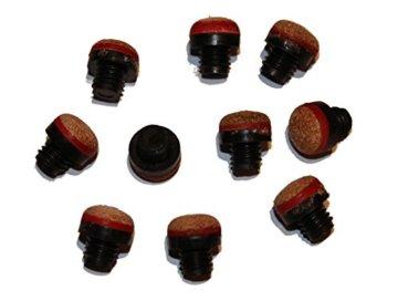 2xBillardqueue zweiteilig in toller schwarz-blauer Optik+10 Ersatzschraubleder - 4