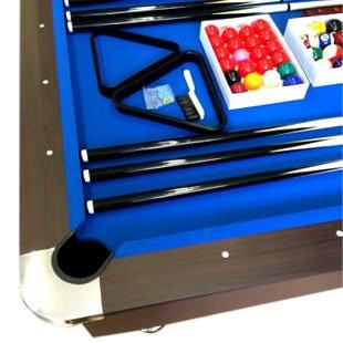 Billardtisch 8 ft Modell VINTAGE Blaumen FULL OPTIONAL Billard Billard-Spiel Messung 220 x 110 cm neue - 2