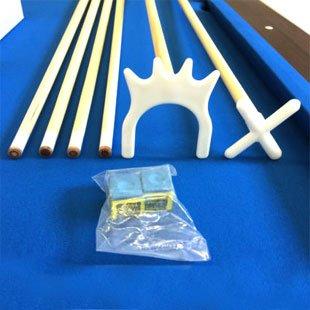 Billardtisch 8 ft Modell VINTAGE Blaumen FULL OPTIONAL Billard Billard-Spiel Messung 220 x 110 cm neue - 3