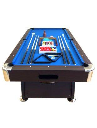 Billardtisch 8 ft Modell VINTAGE Blaumen FULL OPTIONAL Billard Billard-Spiel Messung 220 x 110 cm neue - 1