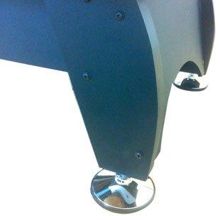 Billardtisch Pool Billard Tisch blau mit Zubehör robust 145 kg 7 ft - 5