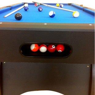 Billardtisch Pool Billard Tisch blau mit Zubehör robust 145 kg 7 ft - 8