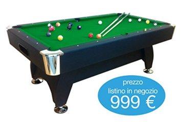 Billardtisch Pool Billard Tisch grün mit Zubehör robust 145 kg 7 ft schnelle Lieferung 2 Jahre Garantie - 2