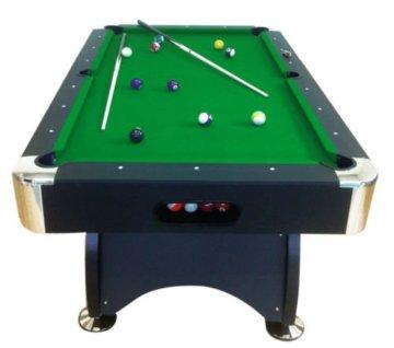 Billardtisch Pool Billard Tisch grün mit Zubehör robust 145 kg 7 ft schnelle Lieferung 2 Jahre Garantie - 1