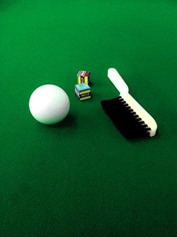 Billardtisch Pool Billard Tisch grün mit Zubehör robust 145 kg 7 ft schnelle Lieferung 2 Jahre Garantie - 5
