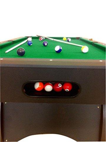 Billardtisch Pool Billard Tisch grün mit Zubehör robust 145 kg 7 ft schnelle Lieferung 2 Jahre Garantie - 6