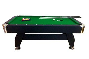Billardtisch Pool Billard Tisch grün mit Zubehör robust 145 kg 7 ft schnelle Lieferung 2 Jahre Garantie - 7