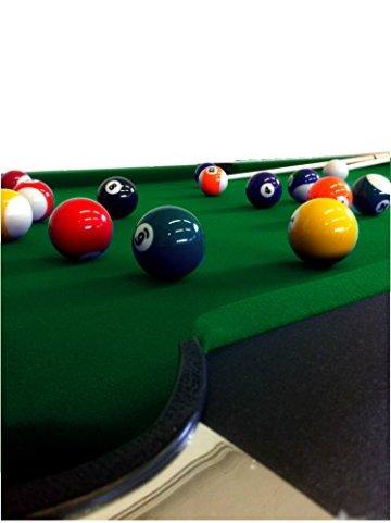 Billardtisch Pool Billard Tisch grün mit Zubehör robust 145 kg 7 ft schnelle Lieferung 2 Jahre Garantie - 8