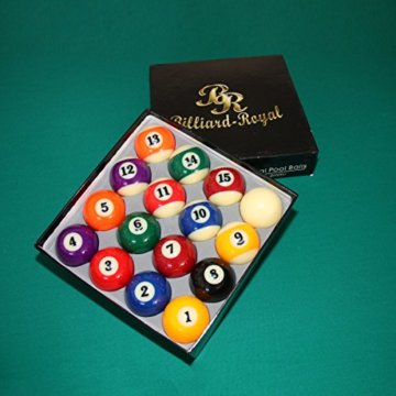 Billiard-Royal Hochwertiger Profi Billardkugelsatz - 1