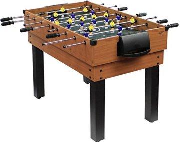 Carromco Multifunktionstischfussball Multigame Choice-XT 10-in-1 inklusive Billardkugeln, 2 Queues, 2 Kickerbälle, 06010 - 2