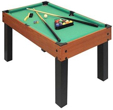 Carromco Multifunktionstischfussball Multigame Choice-XT 10-in-1 inklusive Billardkugeln, 2 Queues, 2 Kickerbälle, 06010 - 4