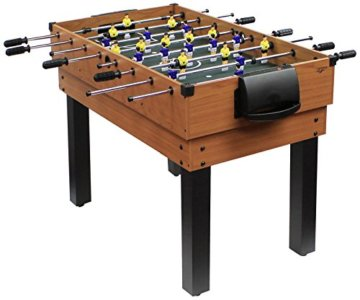 Carromco Multifunktionstischfussball Multigame Choice-XT 10-in-1 inklusive Billardkugeln, 2 Queues, 2 Kickerbälle, 06010 - 1