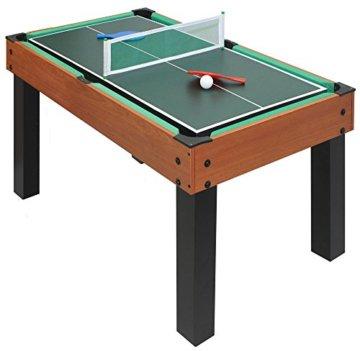 Carromco Multifunktionstischfussball Multigame Choice-XT 10-in-1 inklusive Billardkugeln, 2 Queues, 2 Kickerbälle, 06010 - 5