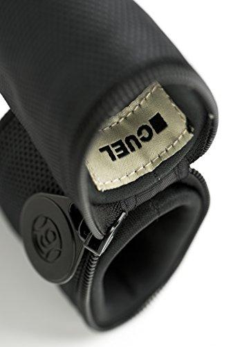 Cuel Sport Billard-Köcher Schwarz 1/1 für Pool-Billard-Queues, mit Schultergurt und Seitentasche für Billardzubehör - 3