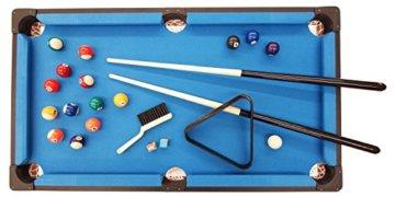 Exklusiver Mini Billardtisch GamePoint in Farbe Königsblau, Größe ca. 92x52x20 cm - Angebot ! - 2