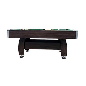 Jalano Billardtisch 7ft Snooker in 2 Farben Pool Billiard Set inkl. Zubehör 214 x 122 x 82 cm (LxBxH) - 7 Fuß Tischbillard mit Kugelrücklauf - 4