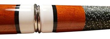 John West Pool Billardqueue Queue Premium-Set - in 4 Längen nutzbar - 5