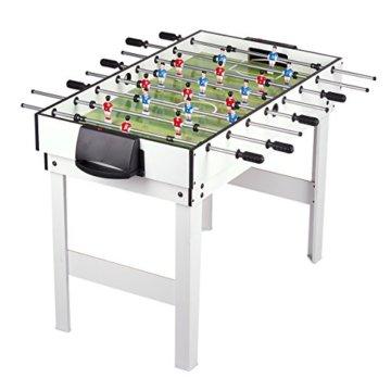 Leomark Multigame Spieletisch Billiard Hockey Tischtennis 4in1  Multifunktionstisch Multiplayer Inkl. Komplettem Zubehör Ab 8 Jahre - 2