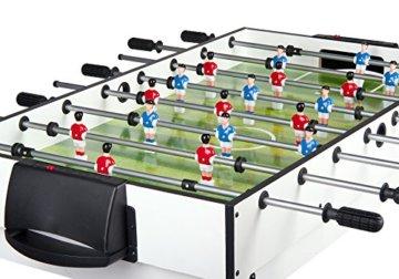 Leomark Multigame Spieletisch Billiard Hockey Tischtennis 4in1  Multifunktionstisch Multiplayer Inkl. Komplettem Zubehör Ab 8 Jahre - 6