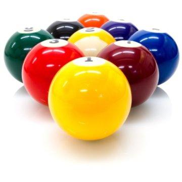 Maxstore Billard - Zubehörset ALL IN ONE - Komplettset inkl. 5 Queues, Billardkugeln, Dreieck und diversen Extras, Zubehör Set, Pool, Snooker, schadstoffgeprüft - 6