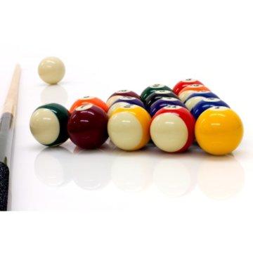 Maxstore Billard - Zubehörset ALL IN ONE - Komplettset inkl. 5 Queues, Billardkugeln, Dreieck und diversen Extras, Zubehör Set, Pool, Snooker, schadstoffgeprüft - 7