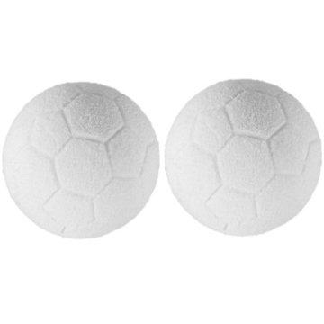 """Maxstore Tischfussball """"Glasgow"""", 4 Dekore: Holz/Schwarz / Blau/Soccer, inkl. 2 Bälle, 2 Getränkehalter, höhenverstellbare Füße, hochgezogene Spielfeldecken, Tischkicker, Kicker, Kickertisch - 9"""