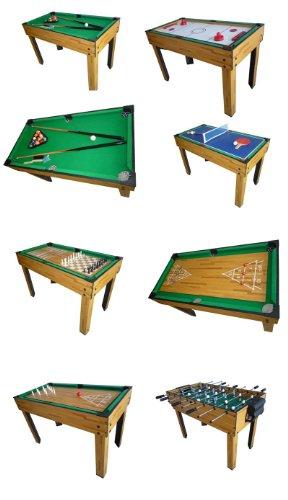 Mendler Tischfußball Billard Hockey 9in1 Multiplayer - 3