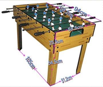 Mendler Tischfußball Billard Hockey 9in1 Multiplayer - 4
