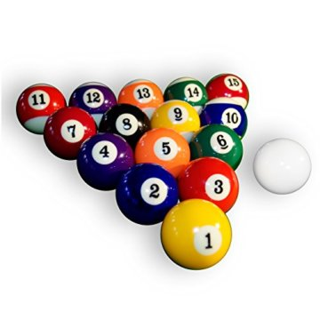 Nexos Satz Billardkugeln, Nummern- u. Queueball 57,2 mm - 4