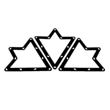 Pixnor 68und 9Ball Magic Rack Billard Pool Queue Zubehör Schwarz - 3