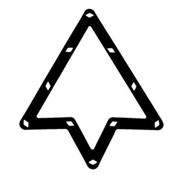 Pixnor 68und 9Ball Magic Rack Billard Pool Queue Zubehör Schwarz - 4
