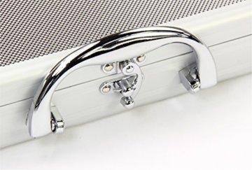 Queue-Koffer aus Aluminium für 2 Stück 1/2-geteilteQueues - 2