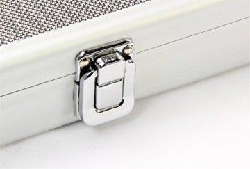 Queue-Koffer aus Aluminium für 2 Stück 1/2-geteilteQueues - 3