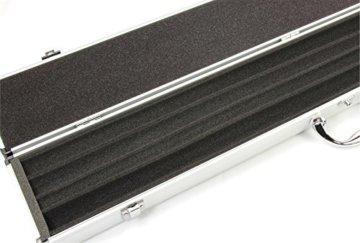 Queue-Koffer aus Aluminium für 2 Stück 1/2-geteilteQueues - 4