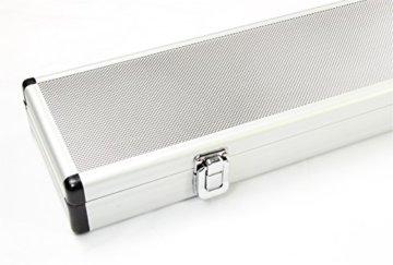 Queue-Koffer aus Aluminium für 2 Stück 1/2-geteilteQueues - 5