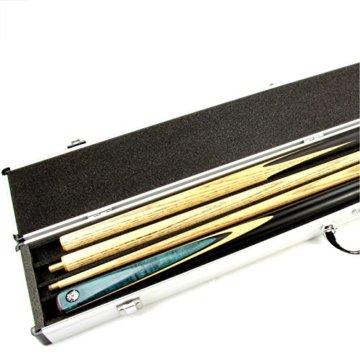 Queue-Koffer aus Aluminium für 2 Stück 1/2-geteilteQueues - 8