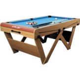 Riley FSPW-6 Billardtisch Pool Snooker klappbar 183 x 79 x 97cm - 1