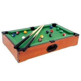 Tischbillard Mimi aus Holz, Geschicklichkeitsspiel auf jeder Tischplatte spielbar, schult spielerisch die Hand-Augen-Koordination, für kleine und große Billard-Fans ab 5 Jahre - 1